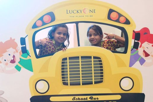 Thats how LuckyOne celebrated the Back to School event.