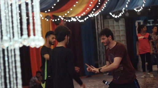 [Press Release] The Multitalented Osman Khalid Butt turns Choreographer for the Upcoming Movie 'Parchi' (3)