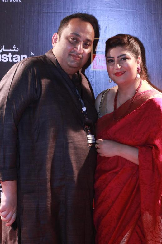 Amir Mazhar and Rima