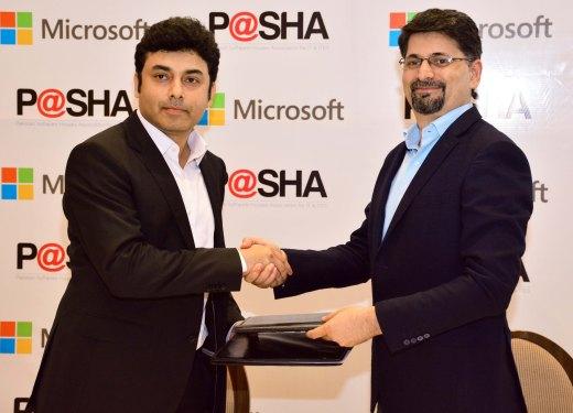 Microsoft & Pasha - Signing