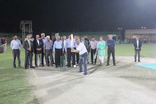 Naya Nazimabad Photo Release - Chief Guest Mr. Saeed Ahmed, President National Bank of Pakistan inaugurated Naya Nazimabad Ramzan Cup 2018