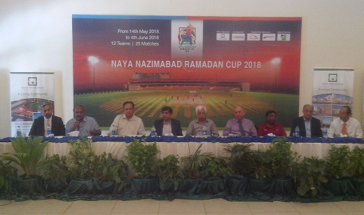 Naya Nazimabad Photo Release - Naya Nazimabad Ramzan Cup 2018 (May 09, 2018)