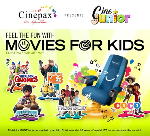 Press Release - Cinepax announces Cine Junior from 25th May (2)