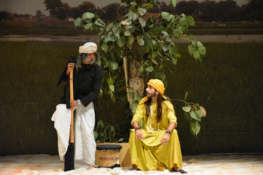 Daastan-e-Ishq, flavored with our tradition and live music with amazing acts in a narration form by Akbar Ladhani