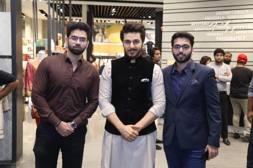 Fawaz Dandia, Ahsan Khan and Fahad Dandia