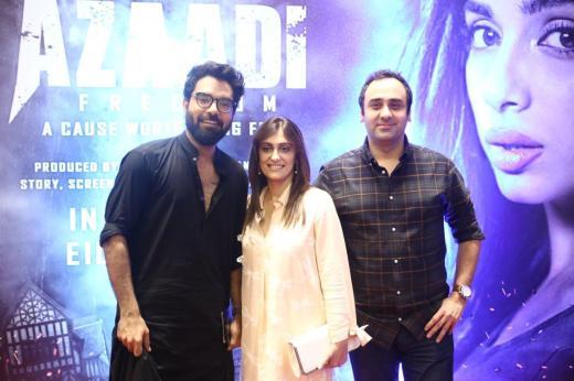 Yasir Hussain, Shazia Wajahat, Wajahat Rauf