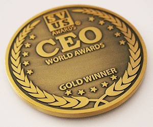 CEO of the world Gold Winner