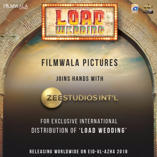 [Press Release] - Filmwala Pictures Announces Historic Collaboration with ZEE Studios International for 'Load Wedding'