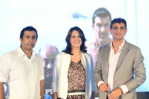 Mr Faisal Khalid GM Digital Service, Ms Marium El Bacha- CEO CINEPAX &Mr Arif Baig- Chairman Cinepax
