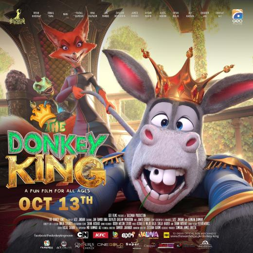 [Press Release] - The Donkey King Theatrical Trailer - Promises A Film With A Big Heart, Big Star Cast And Big Box Office Potential