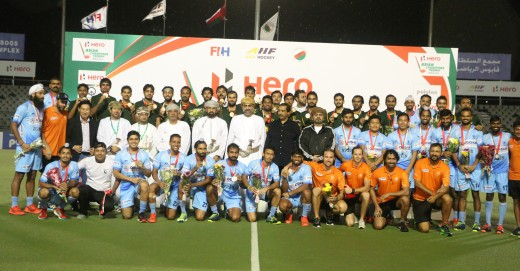 India and Pakistan joint winners
