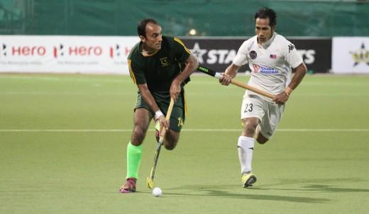 Pakistan against Malaysia 2