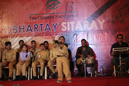 Performance of the little champion at TCF's Obhartay Sitaray Event