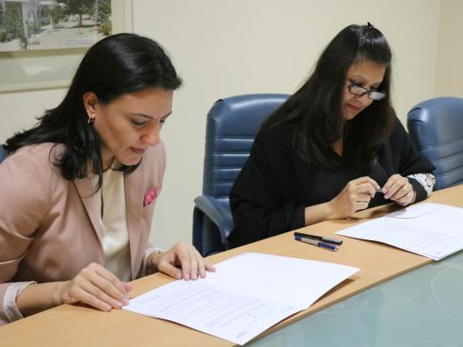 Ms. Saba Faisal and Ms. Maryam El Bacha (3)