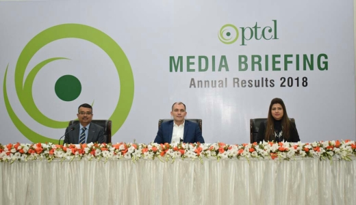 PTCL Financial results for the year ended - Urdu picture-1