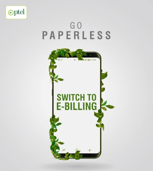 312eb0b4bb0ac Karachi(Cliff News)Pakistan Telecommunication Company Limited (PTCL)  encourages its customers to opt for eBilling