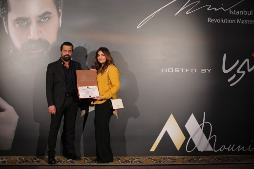 Mona j with Mounir