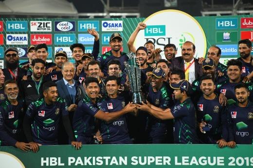 Quetta Gladiators the winning team of HBL PSL 2019