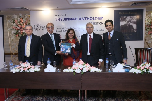 Photo Release - Fourth Edition of 'The Jinnah Anthology' Launched by 'The Jinnah Society' (Mar 29, 2019)