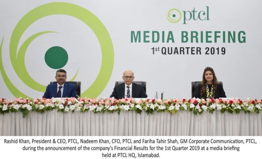 PTCL Group Q1 Results - English Picture