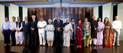 Sima Kamil, President & CEO, UBL along with the winners, judges and winners of different categories at the 8th UBL Literary Awards held in Karachi recently.