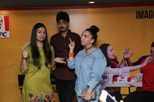 Rida Zahra, Sami Rehman And Saima Ajram