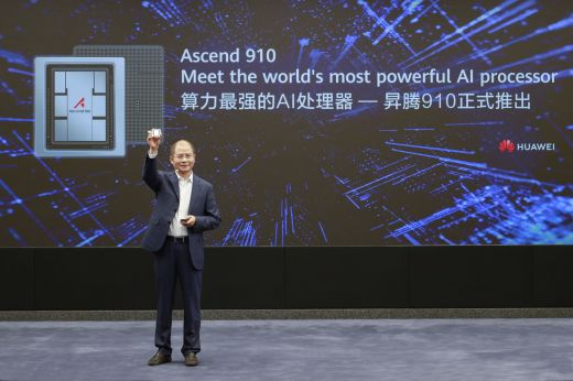 Huawei Photo Release - Eric Xu, Huawei's Rotating Chairman, announcing the release of Ascend 910 and MindSpore (Aug 26, 2019).jpg