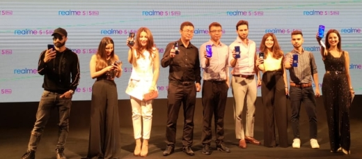 realme 5 launch picture