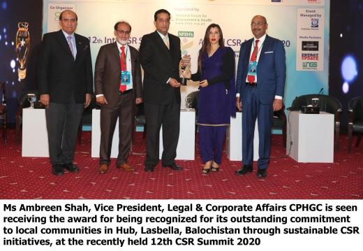 CPHGC CSR Award