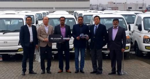 Hyundai - Porter H-100 ,distribution