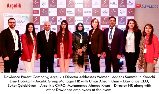 Dawlance Parent Company, Arçelik's Director Addresses Women Leader's Summit in Karachi Picture Release_English