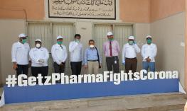 Photo Release 2 - Getz Pharma launches 'Care for Heroes' campaign to disinfect over 8,000 clinics, and conduct free corona virus screening test of more than 25,000