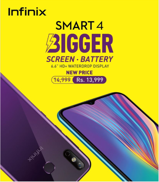 Infinix Announces Exciting New Prices for Smart 4