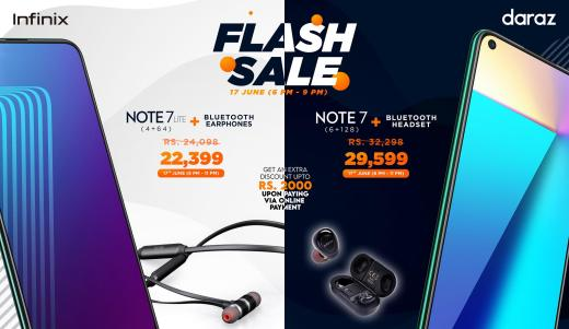 Infinix Devices Still up for Grabs in discounted prices at the Daraz Mobile Week!