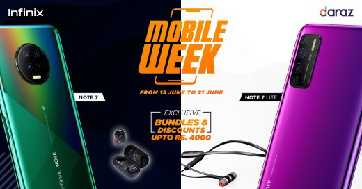Infinix Partners up with Daraz to bring Exclusive Discount for Daraz Mobile Week