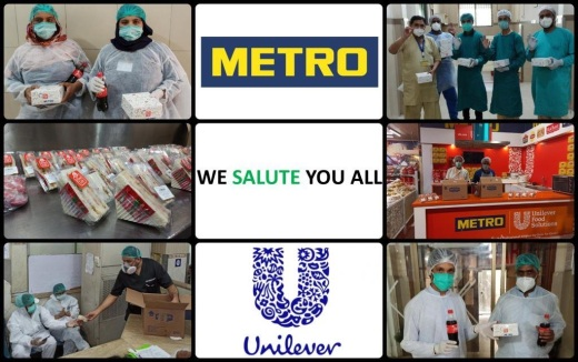 METRO Unilever collage